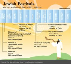 Annual Jewish Festivals of the Lord in Leviticus Bible Study Tools, Scripture Study, Bible Notes, Bible Scriptures, Beautiful Words, Cultura Judaica, Quick View Bible, Images Bible, Jewish Festivals