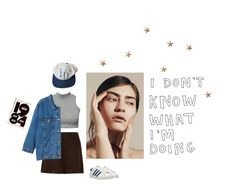 I don't know what I'm doing by unicorn-soup on Polyvore featuring polyvore, fashion, style, Monki, Miu Miu, adidas Originals, ORWELL, Summer, Spring, adidas, sporty and gap