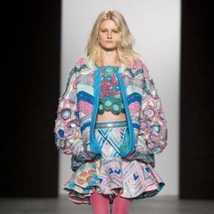 See all the Collection photos from Westminster University Autumn/Winter 2015 Ready-To-Wear now on British Vogue Fall Winter, Autumn, Westminster, Harajuku, Ready To Wear, Kimono Top, Vogue, Chilling, How To Wear