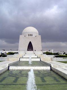 The Tomb of Quaid-e-Azam Muhammad Ali Jinnah, #Pakistan