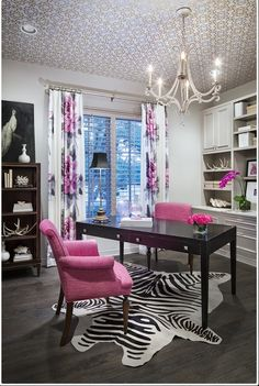 ✔ home office colors, pink office decor, office color schemes, office setup Cores Home Office, Home Office Colors, Home Office Space, Home Office Design, Home Office Decor, Office Ideas, Pink Office Decor, Office Setup, Office Style