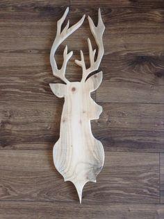 Hertenkop hout Bet Bee Wood Yard Art, Wood Art, Intarsia Woodworking, Woodworking Crafts, Christmas Wood, Christmas Crafts, Wood Crafts, Diy And Crafts, Wood Transfer