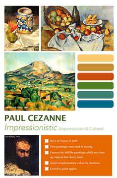 Cézanne Art Poster
