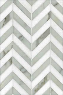 Herringbone tile in Chevron