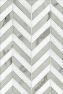 Herringbone tile in Chevron