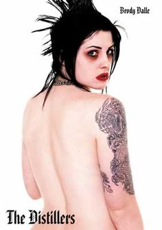 Brody Dalle - The Distillers Brody Dalle, The Distillers, Tenacious D, Punk Rock Girls, Women Of Rock, Billy Idol, Riot Grrrl, Courtney Love, Women In Music