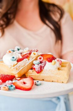 Breakfast of Champions: 16 Crazy Good Waffles, Pancakes, and French Toast Recipes #waffle #pancake #frenchtoast #recipes #fall #winter #dessert #breakfast