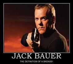 So Jack Bauer...