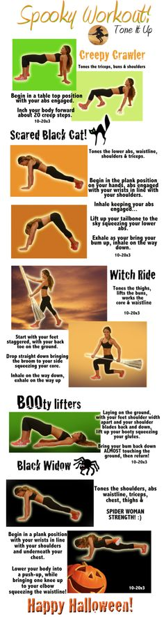 SPOOKTACULAR WORKOUT!