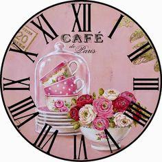 PAPIROLAS COLORIDAS: Relojes