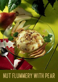 Flummery, Everyday Dishes, Top Recipes, Superfoods, I Foods, Pear, Good Food, Eggs, Pudding