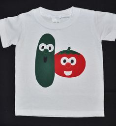 Veggie Tales Bob & Larry shirt by Fit For A Prince.