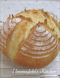 Pain de Campagne-style Bread with Bread and Cake Flour - Version 3 Recipe by cookpad. Tea Strainer, Cake Flour, No Bake Desserts, Tray Bakes, Bread Recipes, Baked Potato, Food And Drink, Baking, Ethnic Recipes