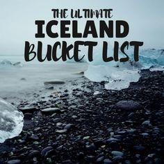 Iceland Bucket List & Iceland Blog full of off the beaten path alternatives in Iceland.