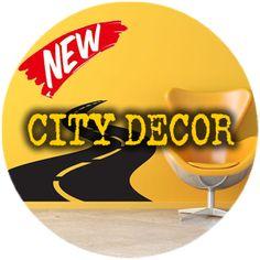 city-decor New City, Company Logo, Interior Design, Logos, Decor, Nest Design, Decoration, Home Interior Design, Interior Designing