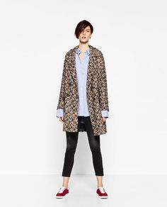 Zara Coats For Women, Jackets For Women, Clothes For Women, Women's Jackets, Zara Looks, Double Breasted Jacket, Zara United States, Outerwear Women, Zara Women