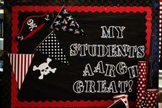 Pirate Classroom Theme