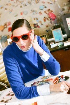Behind the Design: J.Crew Sunglasses Meet Sam, Ryan, Betty, Irving, Jack & Jill (and the people who helped create them). See more here.