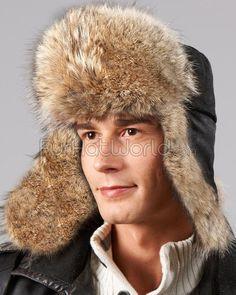 36b224911cb The Coyote Fur Russian Trooper Hat for Men