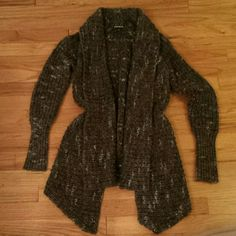 Express Chunky Knit Cardigan Sweater Excellent condition. Express Sweaters Cardigans