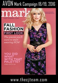 Get your first look at trendy fall fashion on sale online in Avon Mark Magalog…