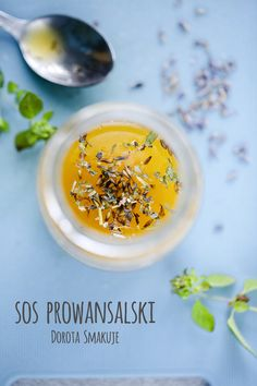 sos_prowansalski Tahini, Side Dishes, Mango, Salt, Recipes, Food, Manga, Rezepte, Food Recipes