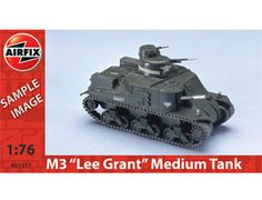 the airfix us m3 leegrant tank model kit in 176 scale from