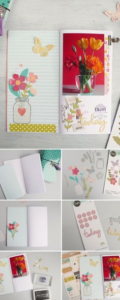 No matter if you're an adventurer or gardener, this handmade notebook idea will transform how you record your ideas and adventures. Discover how to make it min this easy & simple Sizzix craft tutorial. Feature your make using #mymakingstory - #handmadecrafts #DIYcrafts #sizzix #makersgonnamake #notebook #crafts #diyproject #craftideas #sizzixidea
