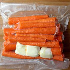 Sous Vide Carrots wi