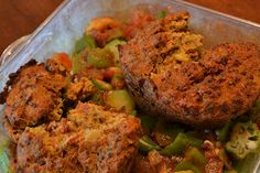 Baked Coconut Salmon Cakes - because your protein should be fun and delicious!! #healthy