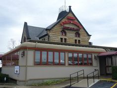 What was once a bustling railroad hub in the late 1800s is now a family favorite restaurant where visitors can enjoy the history, unique atmosphere and passing trains.