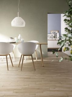 Freetime Collection: Domestic wood effect stoneware | Ragno Small Rooms, Miele, Stoneware, Euro, Salons, Bubbles, Dining Table, Spaces, Tiles