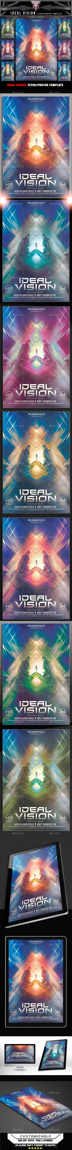 Poster design visio - Ideal Vision Flyer Template