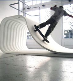 I don't skateboard but this is pretty sweet.