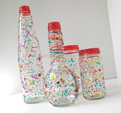 make your own confetti partyware