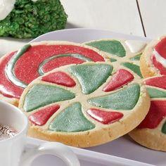Yuletide swirl cookies
