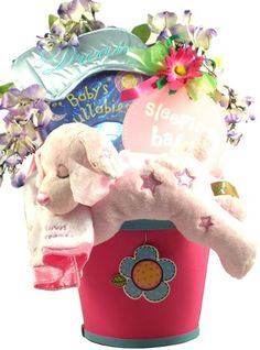 Sweet Dreams, Baby gift basket to mom and baby.