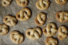 sugared pretzel cookies :: smitten kitchen