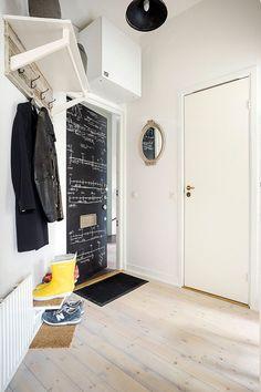 interesting nurdy blackboard door