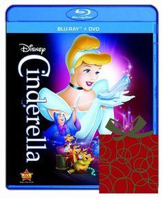 Cinderella Blu-ray DVD Diamond Edition Only $16.99!