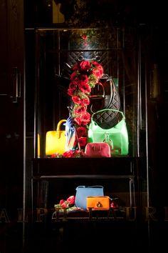 Ralph Lauren / Paris, November 2012 Bag Display, Visual Display, Fashion Displays, Store Windows, Window Styles, Shop Interiors, Window Displays, Window Design, Love Design