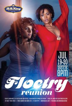 Floetry (7.19-20.15) / Tix @ http://www.ticketmaster.com/event/00004ECCCC415FB4?brand=bbkingblues&camefrom=cfc_bbking_pinterest
