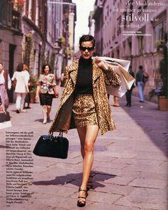 Instagram 上的 ♍️:「 Nadege du Bospertus, Vogue Germany 1994 🐆 」