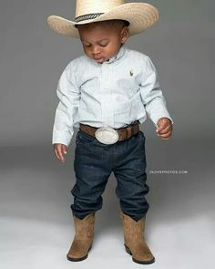 Trendy Black History Outfits For Kids Black Cowgirl, Little Cowboy, Black Cowboys, Cowboy And Cowgirl, Black History Inventors, Cute Babies Photography, Black History Quotes, African American History, Black Men