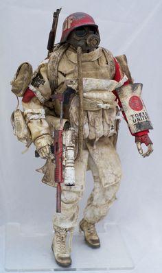 3A WWR Hara Patrol JDF Grunt MK2 Square SET Ashley Wood 1 6th Threea Goodsmile | eBay