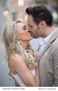 Romantic Curls for a Couple Shoot | Photography by Laura Leigh