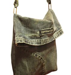 Denim bag out of old jeans