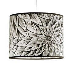 Dahlia lampshade from Lush Designs