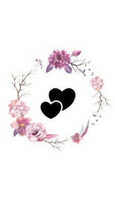 Butterfly Wallpaper Iphone, Heart Wallpaper, Kawaii Wallpaper, Screen Wallpaper, Disney Wallpaper, Iphone Wallpaper, Instagram Emoji, Instagram Frame, Instagram Story