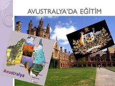 AVUSTRALYA'DA E Ğİ T İ M. AVUSTRALYA HAKKINDA Avustralya, 8.617.930 km² karada, 80.920 km² sularda olmak üzere toplam 8.686.850 km²'lik bir alana kurulmuştur.